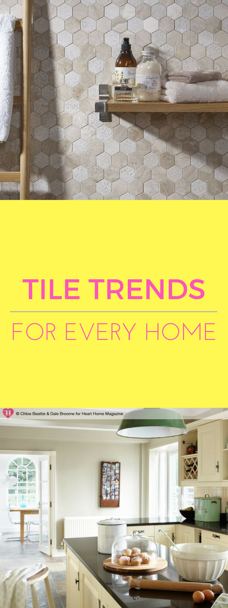 the 3 top tile trends for gracing our homes kitchens and bathrooms have