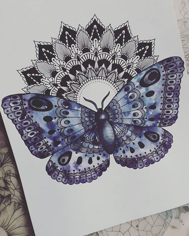 The Person Who Broke You Can T Put You Back Together Mxsicandbands Butterfly Mandala Tattoo Mandala Tattoo Shoulder Butterfly Mandala
