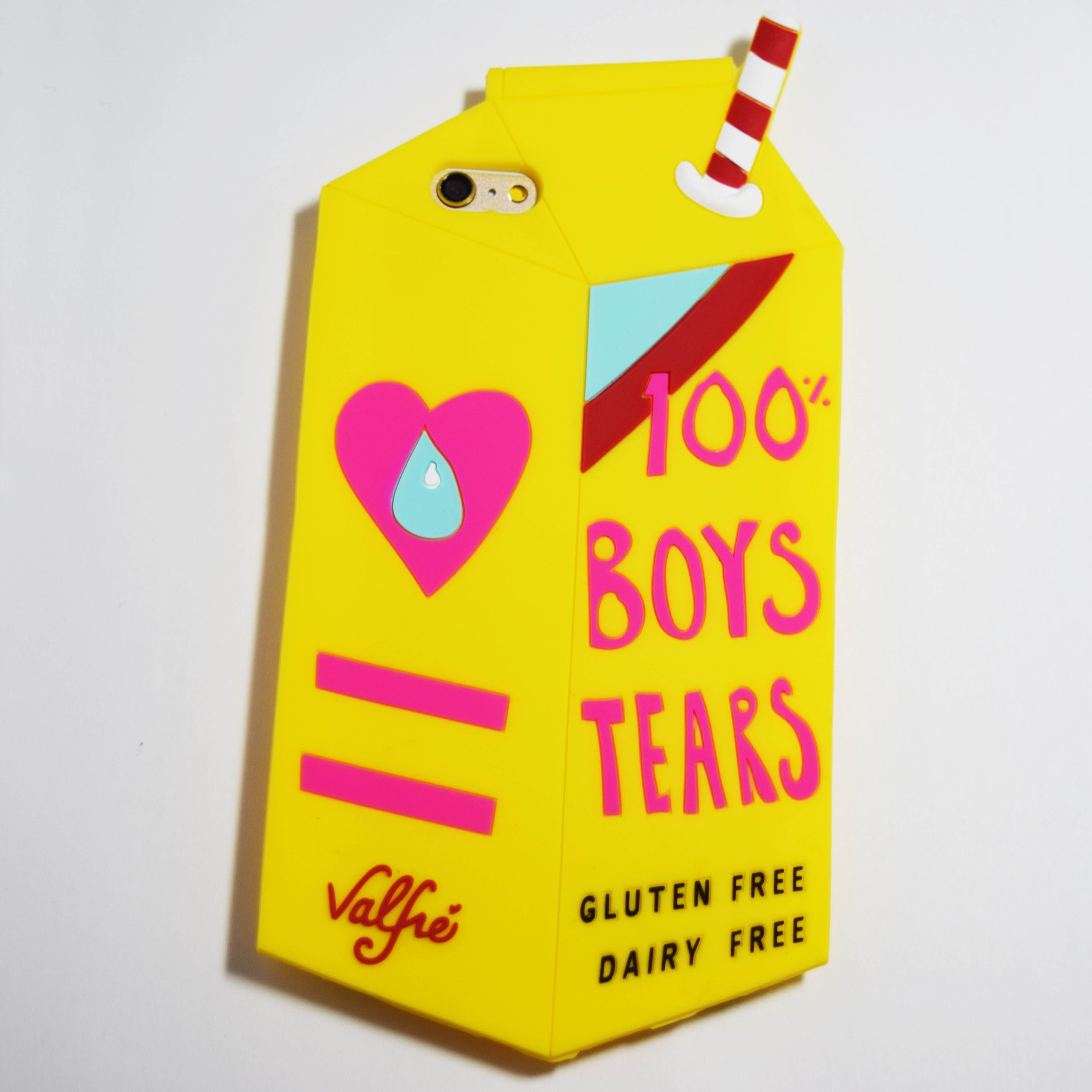 low priced cb267 f1481 Yellow 100% Boys Tears iPhone 6 Plus / 6S Plus Case -   phone cases ...