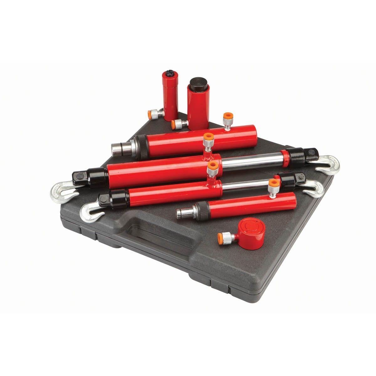 Hydraulic Auto Body Frame Repair Kit 7 Pc In 2020 Auto Body Auto Body Repair Repair