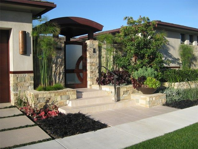 Custom entry gate southern california landscaping david a for Filipino landscape architects