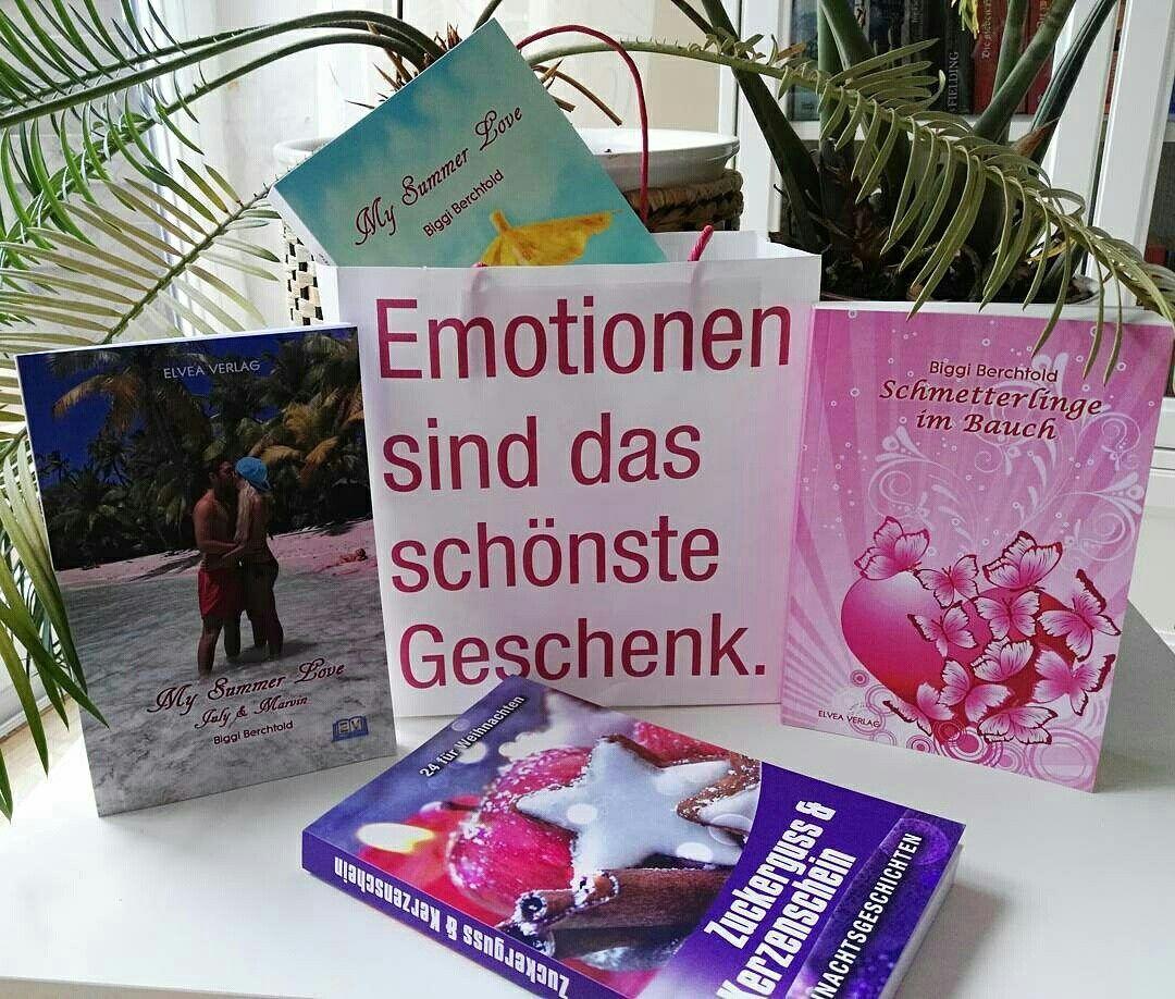 My Summer Love Schmetterlinge im Bauch My Summer Love - July & Marvin Zuckerguss & Kerzenschein  By Biggi Berchtold