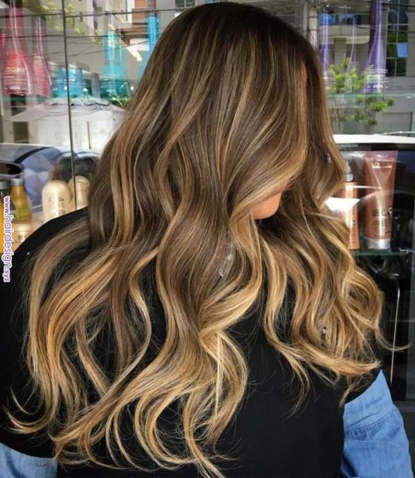 77 Best Hair Highlights Ideas With Color Types And Products Explained Golden Brown Hair Brown Blonde Hair Golden Brown Hair Color