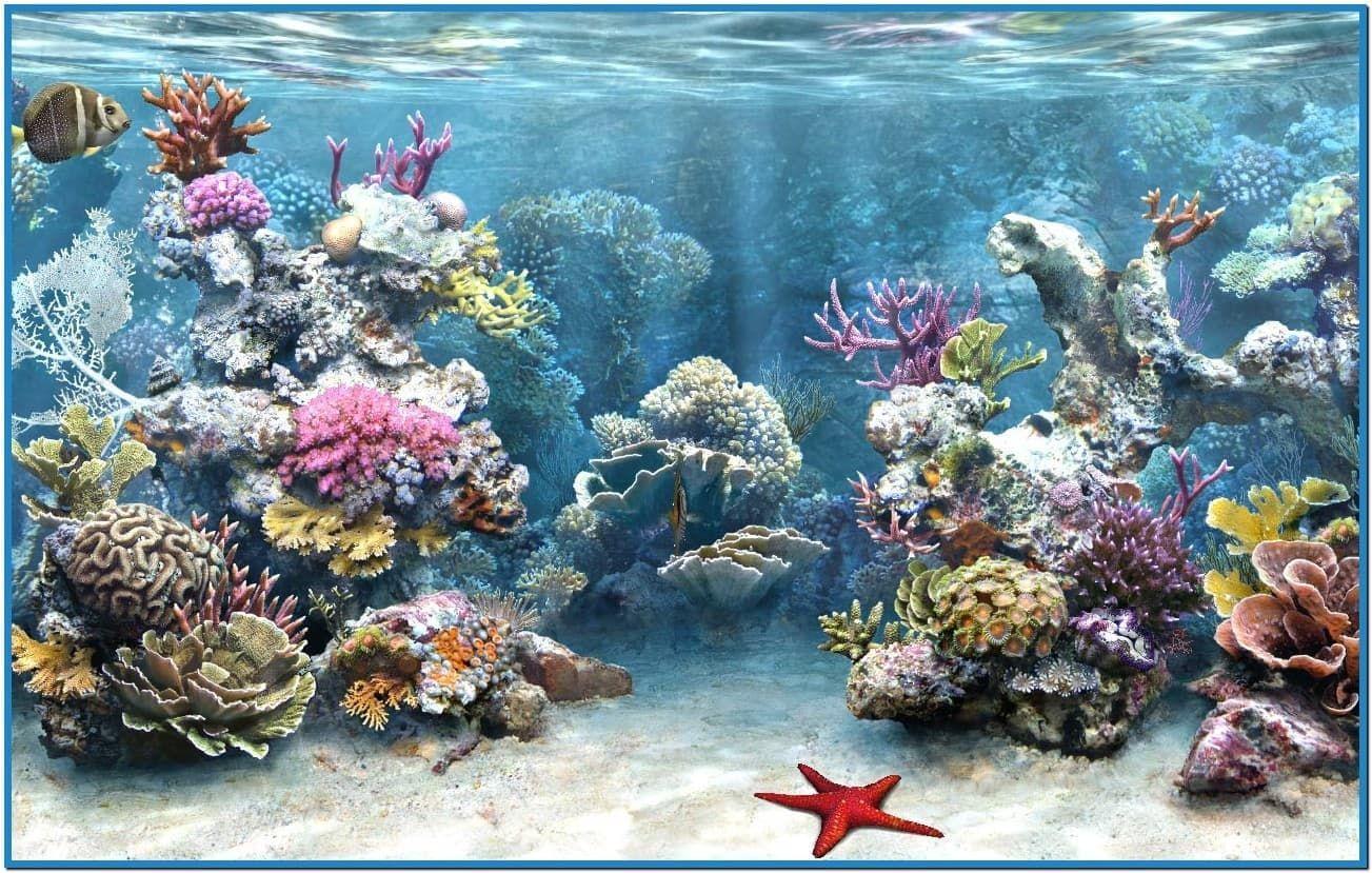 Virtual Aquarium Screensaver