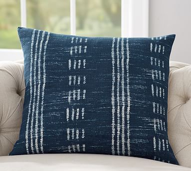 shibori accent pillows blue by the grande tie estate cotton pillow aqua things products of throw dye