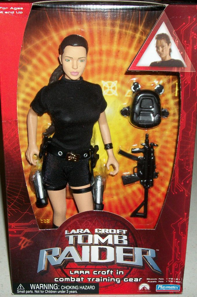 Lara Croft Tomb Raider Doll Angelina Jolie Lesbian Int Action ...