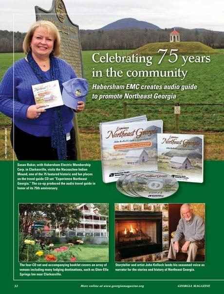 Habersham EMC celebrates 75 years in the community - GEORGIA Magazine - September 2013 - Page 32
