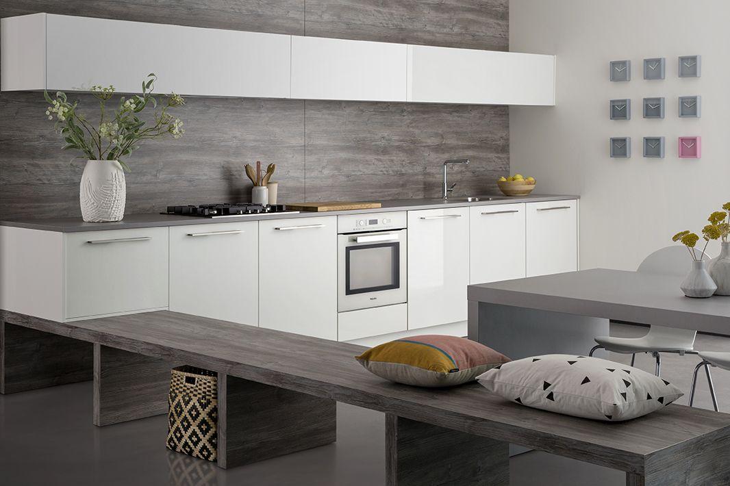 Keuken Interieur Scandinavisch : Witte keukens zijn tijdloos en modern tegelijkertijd dit model