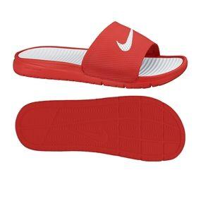 a389cdd93e50ea Nike Men s Benassi Solarsoft Soccer Sandal (University Red White)   soccercorner