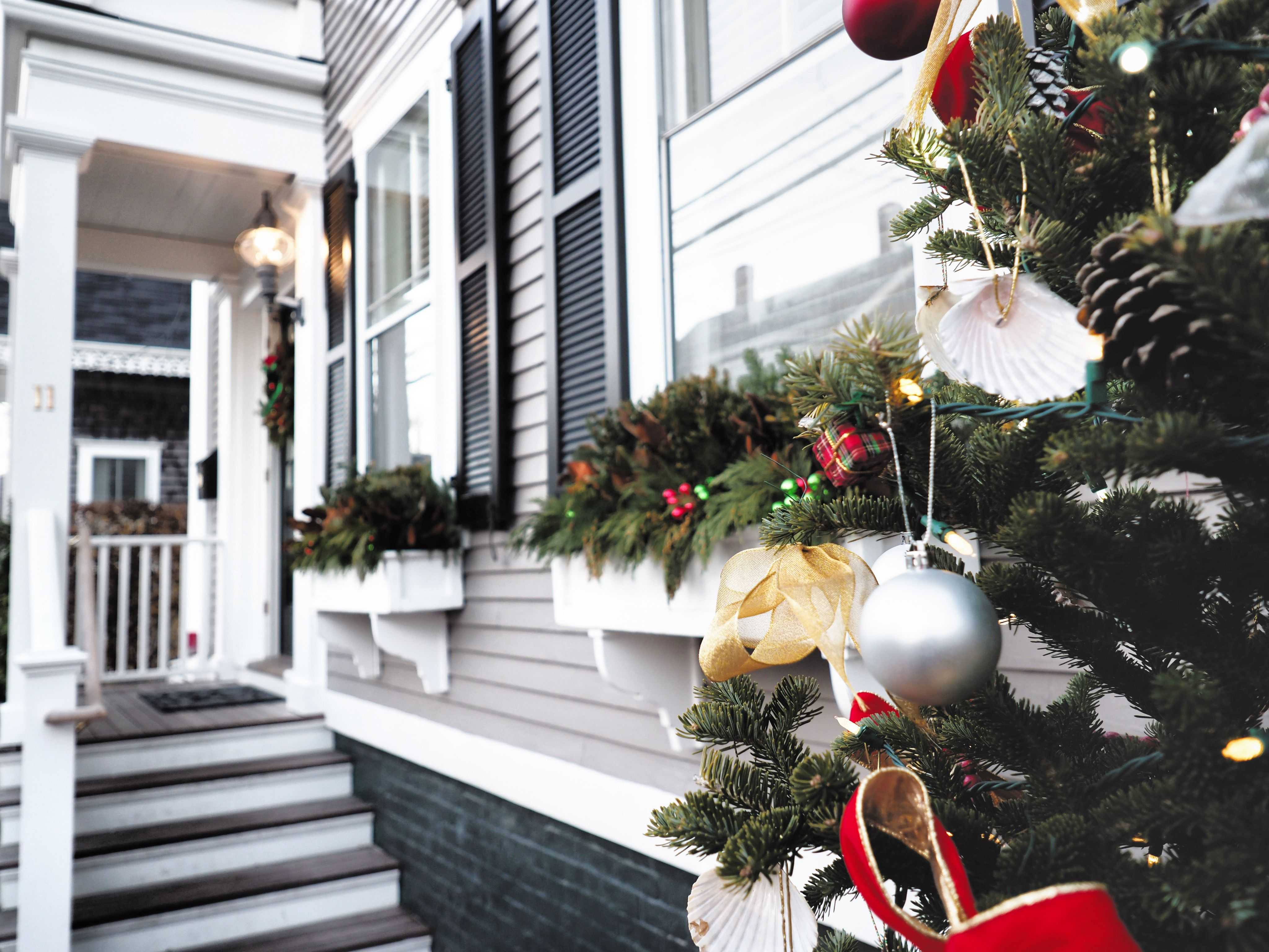 The Holidays at Brass Lantern Inn on Nantucket Brass