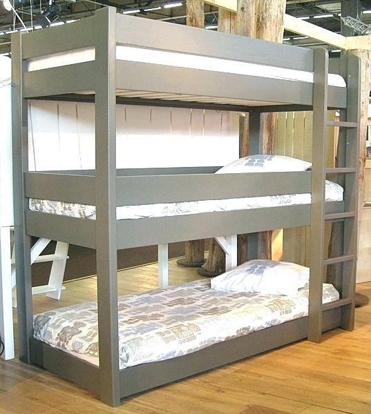 Best 55 3 Level Bunk Beds Triplebunkbeds In 2020 Diy Bunk 400 x 300