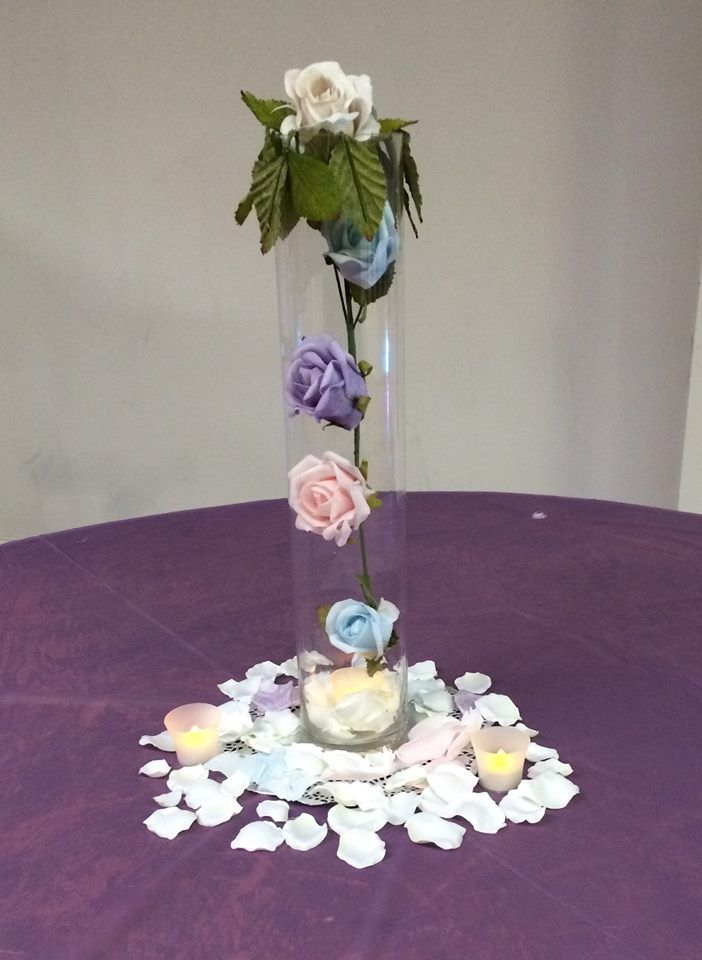 My sample centerpiece- Wedding or any other type event Added more - sample event
