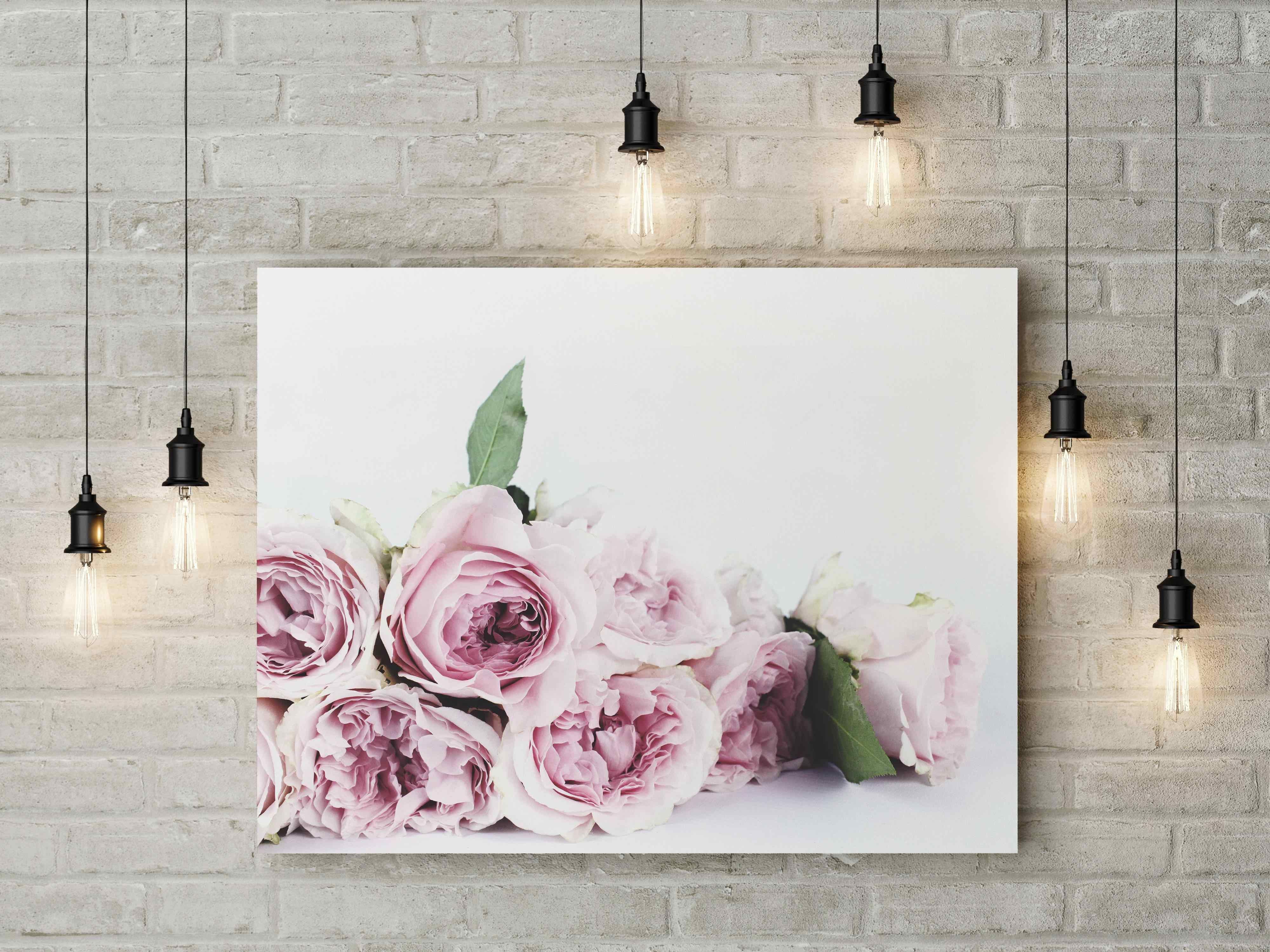 постер для интерьера цветы бывает, если