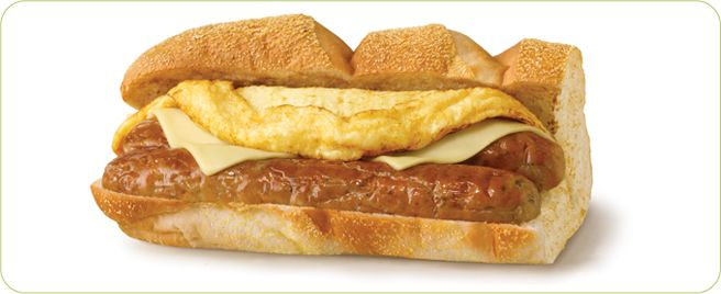 Subway Eat Fresh Sausage Egg And Cheese Egg And Cheese Sandwich Eat Food