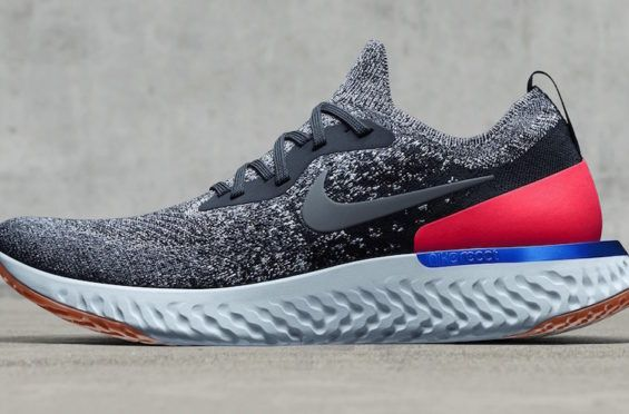 Nike Epic React Flyknit Spring 2018 Colorways The Nike Epic React Flyknit  made its official introduction in January, and the brand new runn… |  Pinteres…