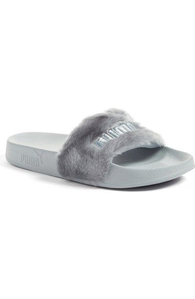 e4fb451a11ef PUMA by Rihanna  Leadcat Fenty  Faux Fur Slide Sandal (Women).  puma  shoes   sandals