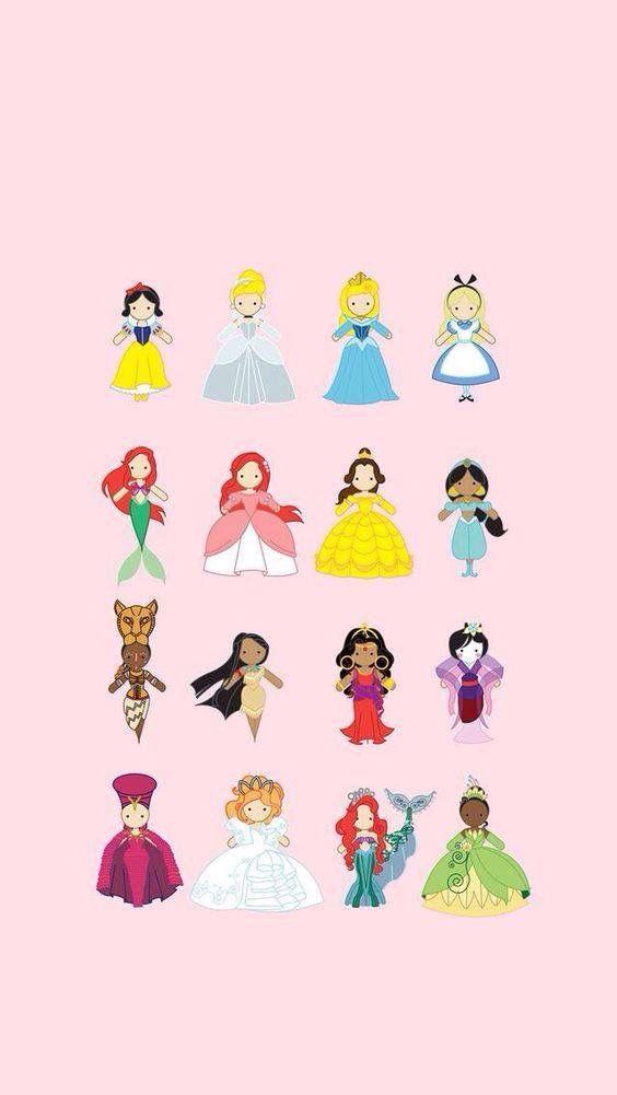 Disney Fondos Princesas   Fondos   Iphone wallpaper ...