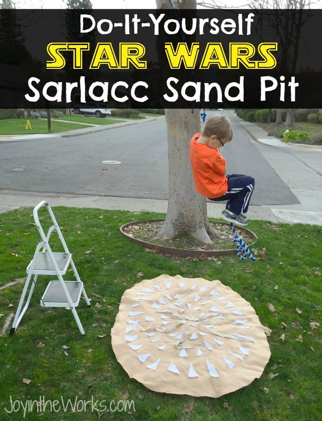 Diy star wars sarlacc sand pit sand pit star and kid activities a do it yourself guide for you to create this simple star wars sarlacc solutioingenieria Image collections
