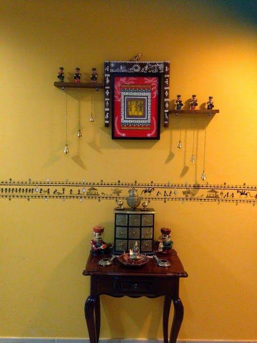 Colours Dekor: The Yellow Wall at Manjulas | Decor Love | Pinterest ...