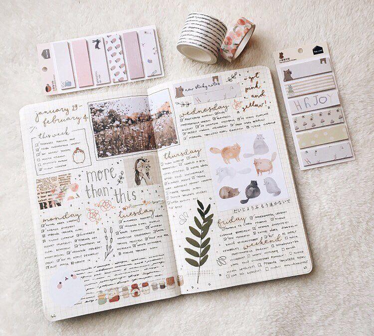Instagram Bullet Journal Art Bullet Journal Aesthetic Bullet Journal Inspiration