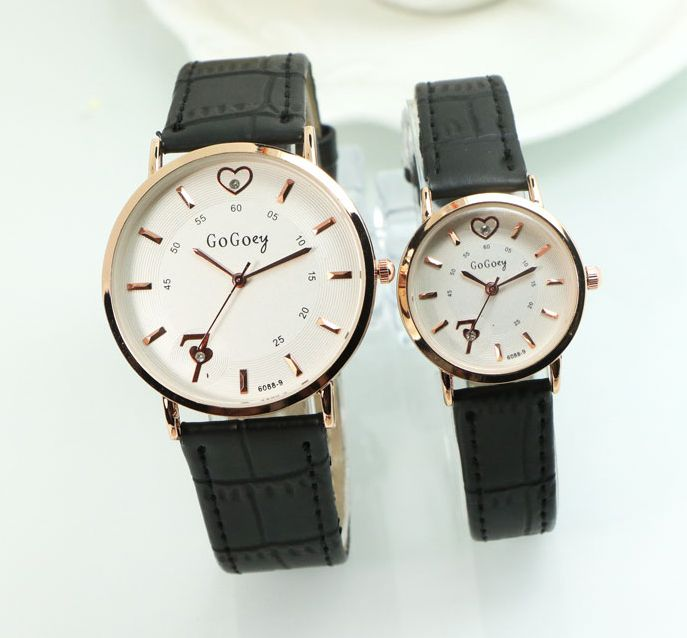c992fce9d7 Cheap clock brand, Buy Quality clock fashion directly from China clock men  women Suppliers: 2016 Top Gogoey Brand Pair Leather Watches Men Women Lovers  ...