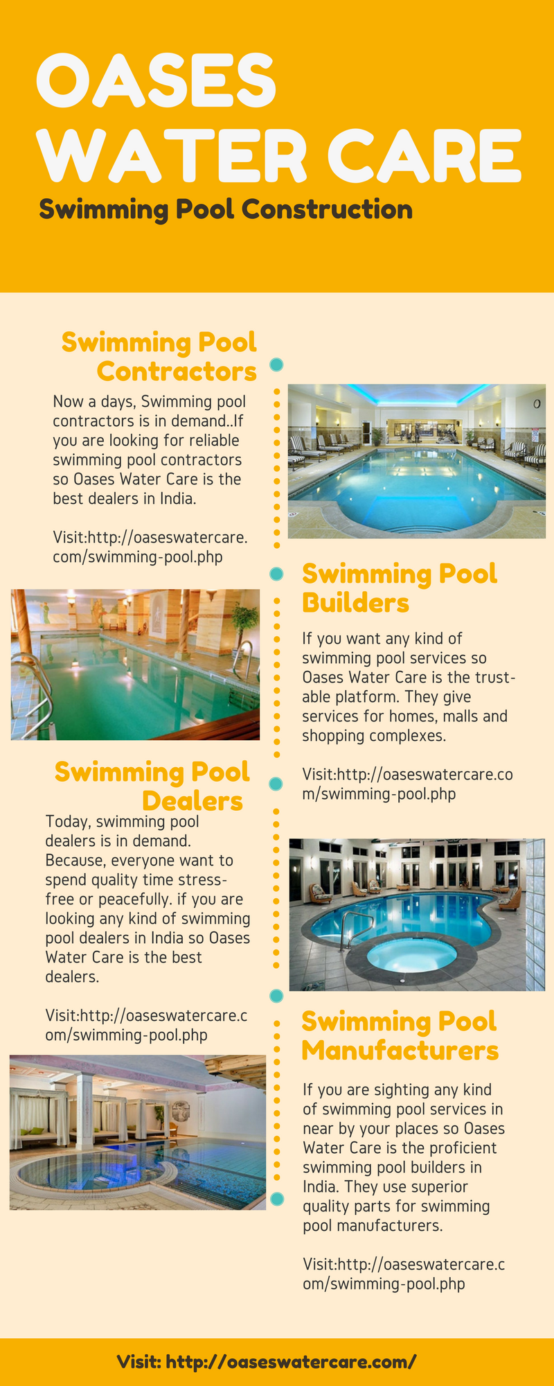 Oases Water Care Deals With Swimming Pool Construction, Swimming Pool  Dealers, Swimming Pool Manufacturers