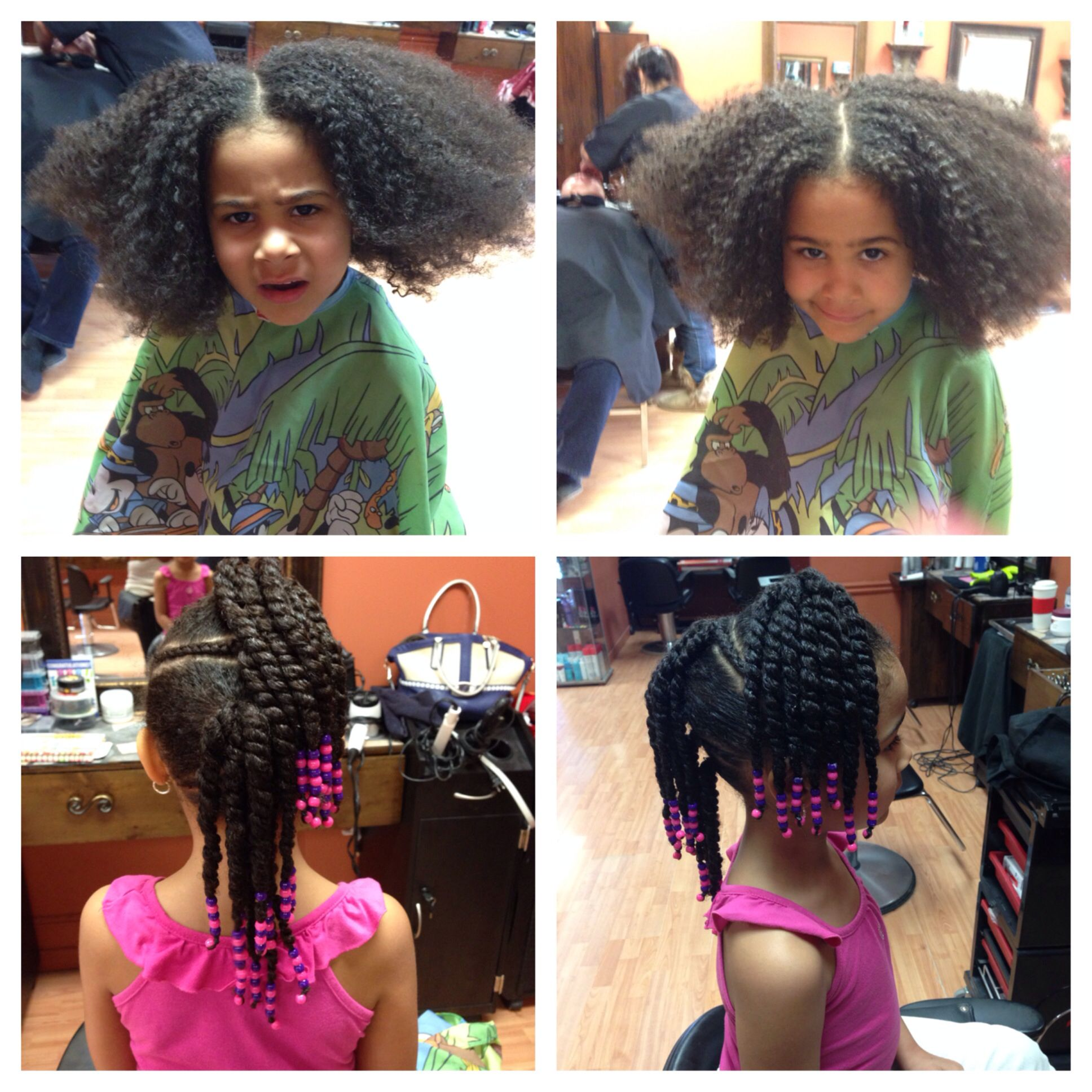 Kids Mixed Hairstyles For Girls