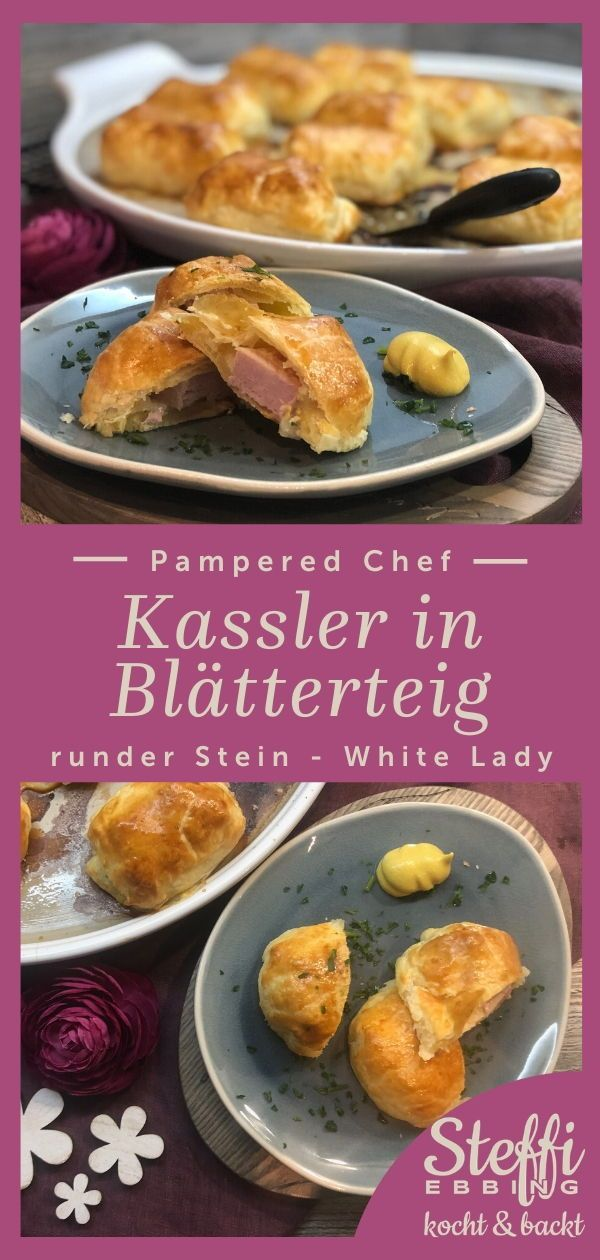 Photo of Kassler in puff pastry from the round stone White Lady by Pampe …