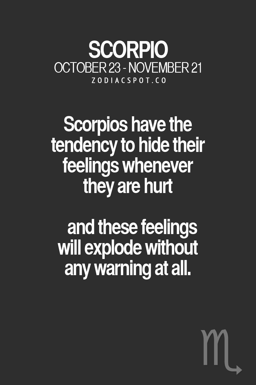 My boyfriend is a scorpio
