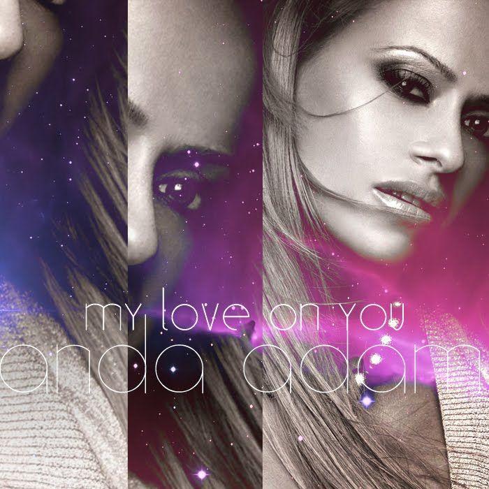Anda Adam – My Love On You (single cover art)