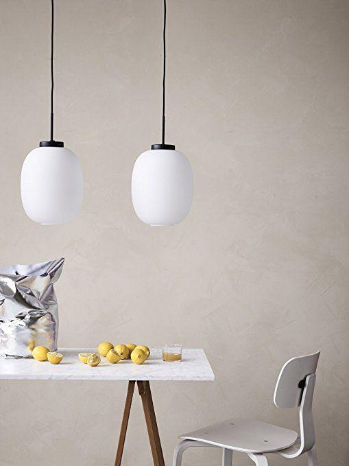 Dyberg Larsen DL39 LED Pendel Leuchte Opalglas Hängeleuchte Esstisch,  Pendel Lampe Für Wohnzimmer