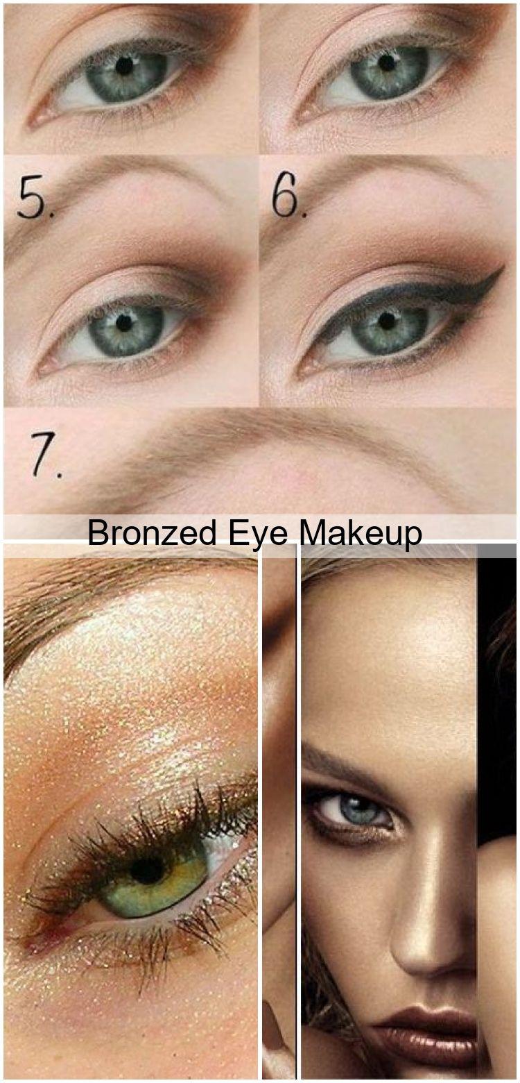 Photo of Bronzed Eye Makeup #EyeMakeupColourful