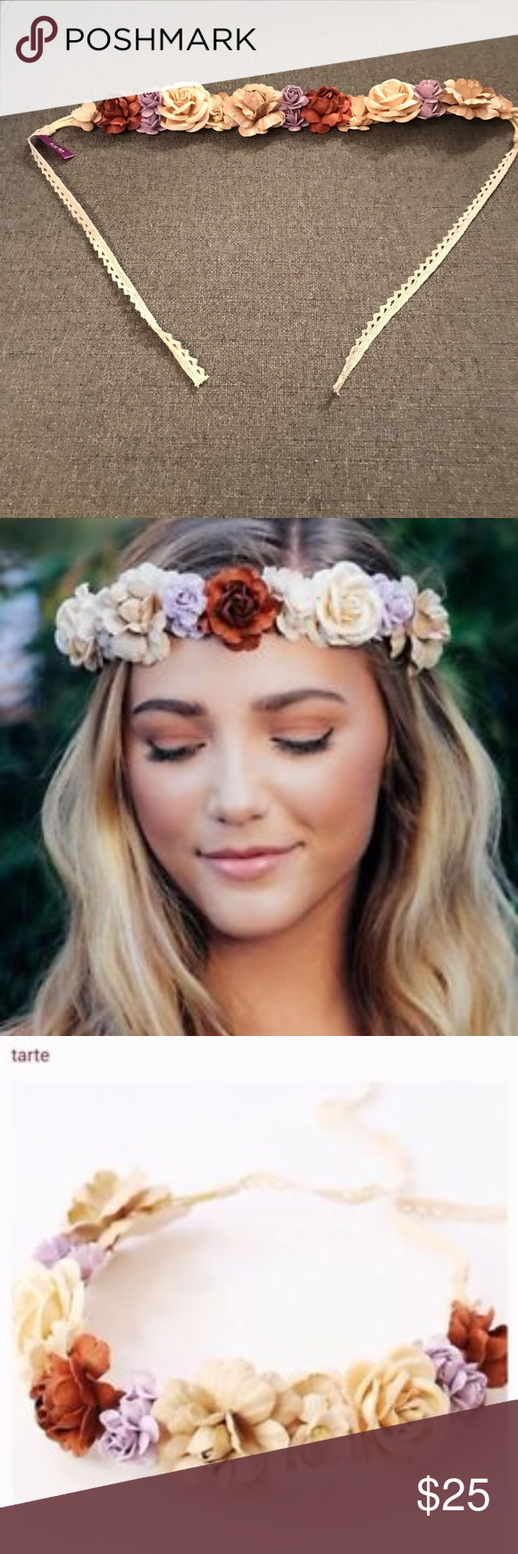 New tarte floral headband crown with flowers flower crown headband new tarte floral headband crown with flowers izmirmasajfo