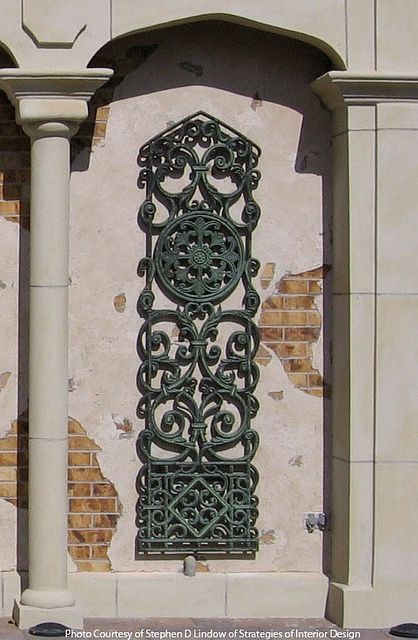 Faux Iron Wall Niche Iron Decor by tvonschimo, via Flickr ...