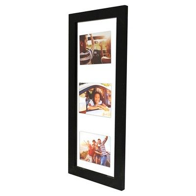 Float Frame Black 10x26 Glass For 3 5x7 Photos Room Essentials Photo Room Floating Frame Room Essentials