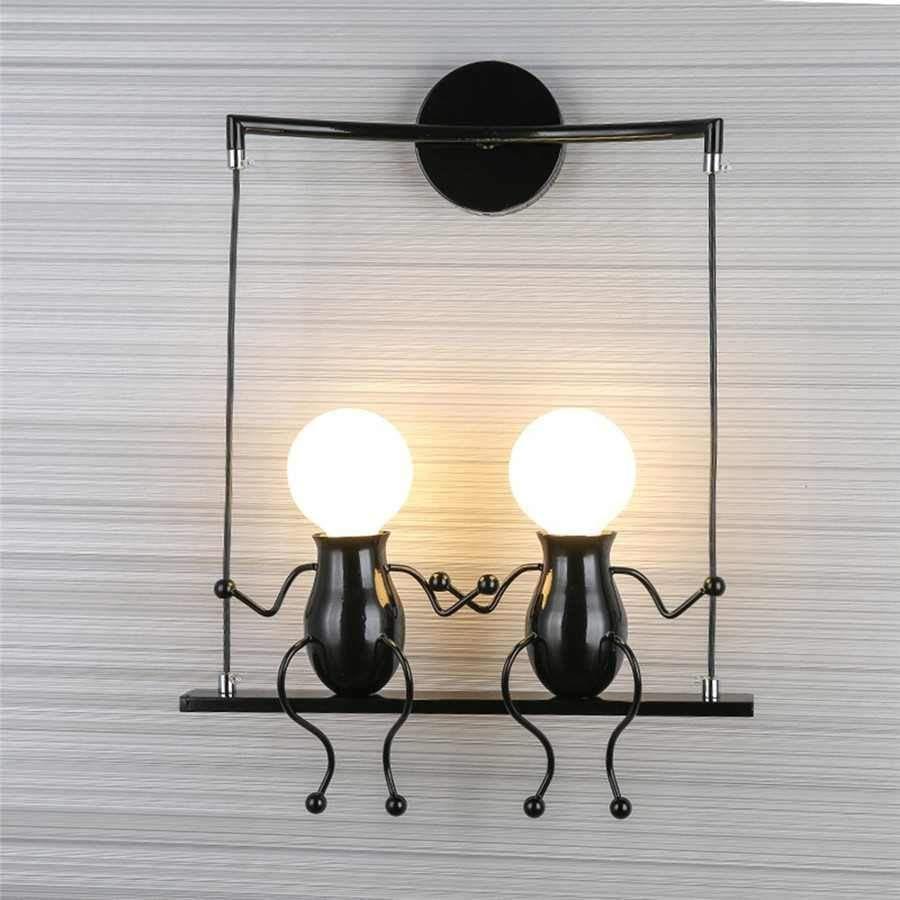 Veendam Funny Wall Light For Bedroom Wall Lamps Bedroom Vintage Wall Lights Led Wall Lamp