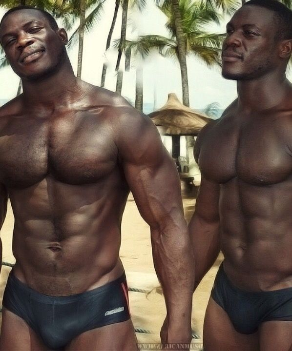 Young gay interracial boys