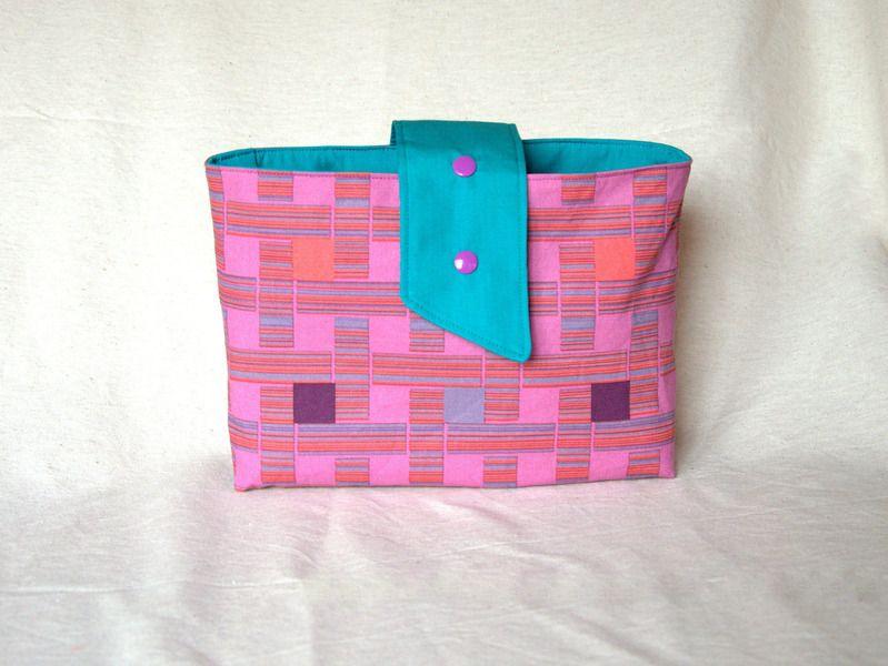 Alles ist immer griffbereit - Taschenorganizer von Pirkko auf DaWanda.com