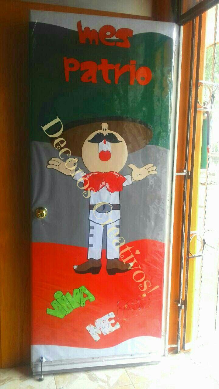 puerta para septiembre escuela pinterest
