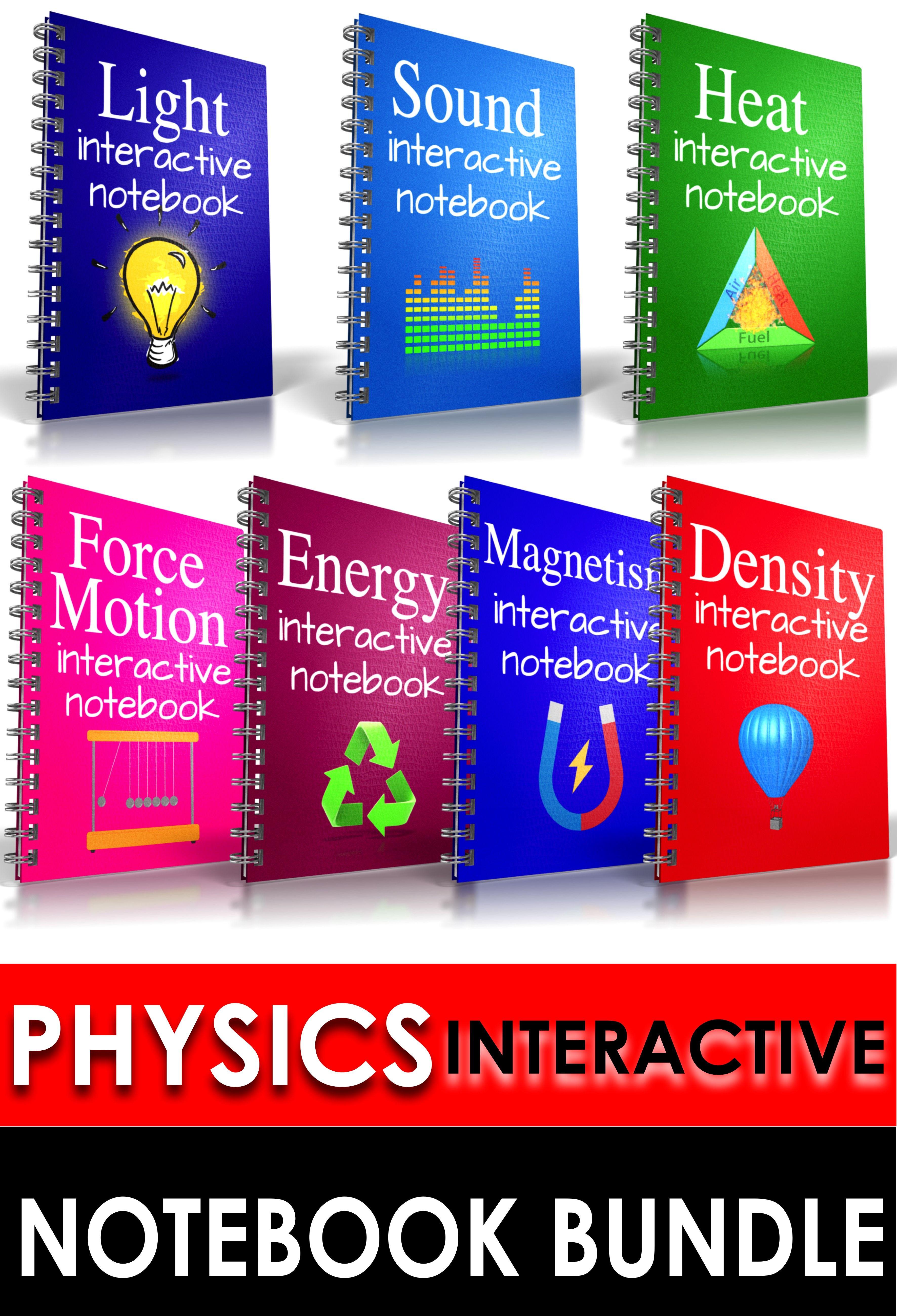 Physics Interactive Notebook Bundle
