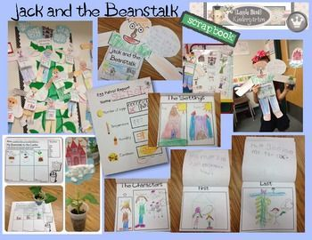 Jack and the Beanstalk Literacy Fun Activities & Centers.... Fairytale fun covering LOTS of CC's!! $