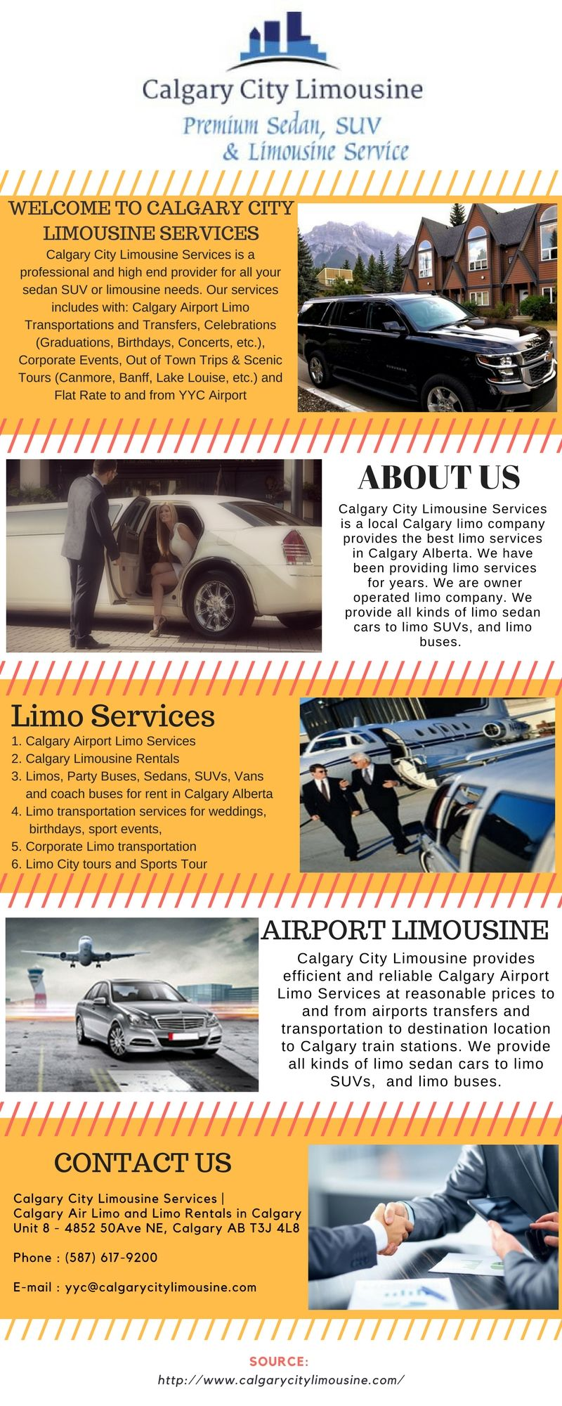 Calgary City Limousine having Calgary Airport Taxi Service in ...