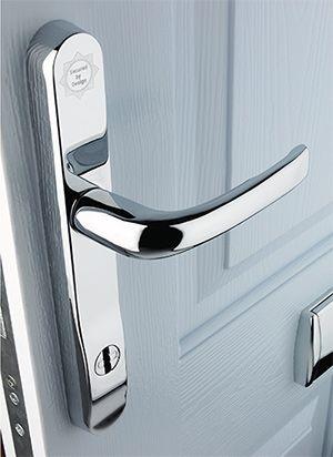 Sleek Fingerprint-Scanning Door Handle Lock ... | Technology ...