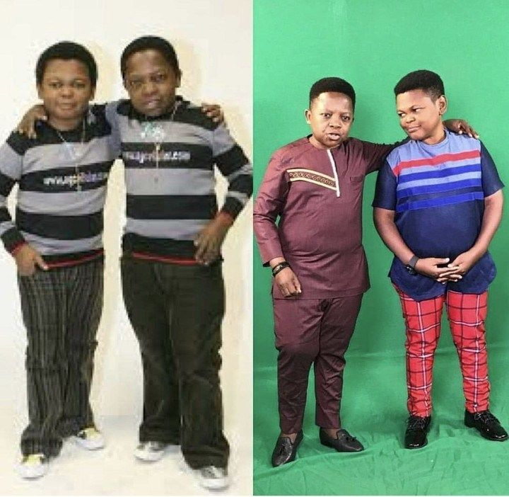 Popular Nollywood actors, Chinedu Ikedieze and Osita Iheme