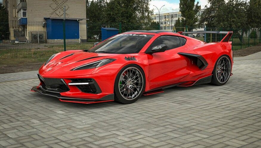 For 25,000, You Can Make a Chevy Corvette C8 Look Like