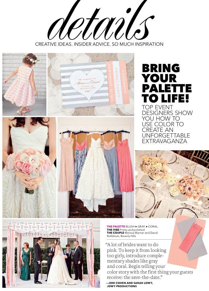 coral theme. wedding ideas. pastels.