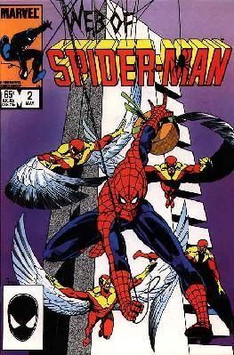 Web of Spider-Man #2 Louise Simonson Greg LaRocque VF ---> shipping is $0.01 !!!