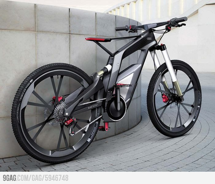A Bicycle Designed By Audi Bicycle Best Electric Bikes Bike
