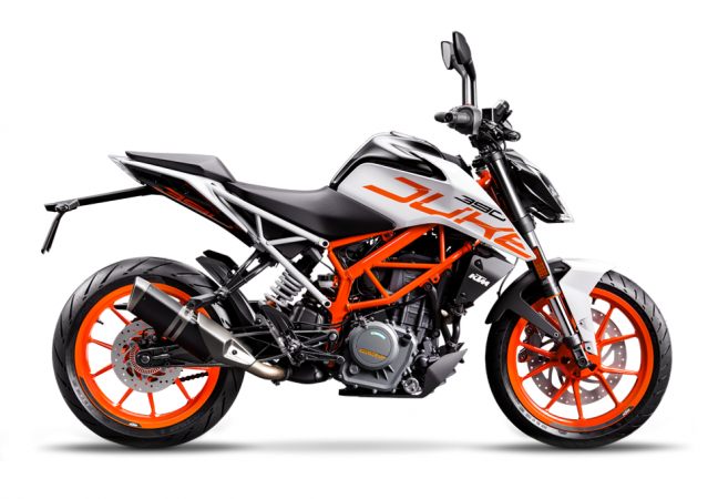 2017 Ktm Duke 390 In White Colour Sold In Mumbai Was A Goof Up