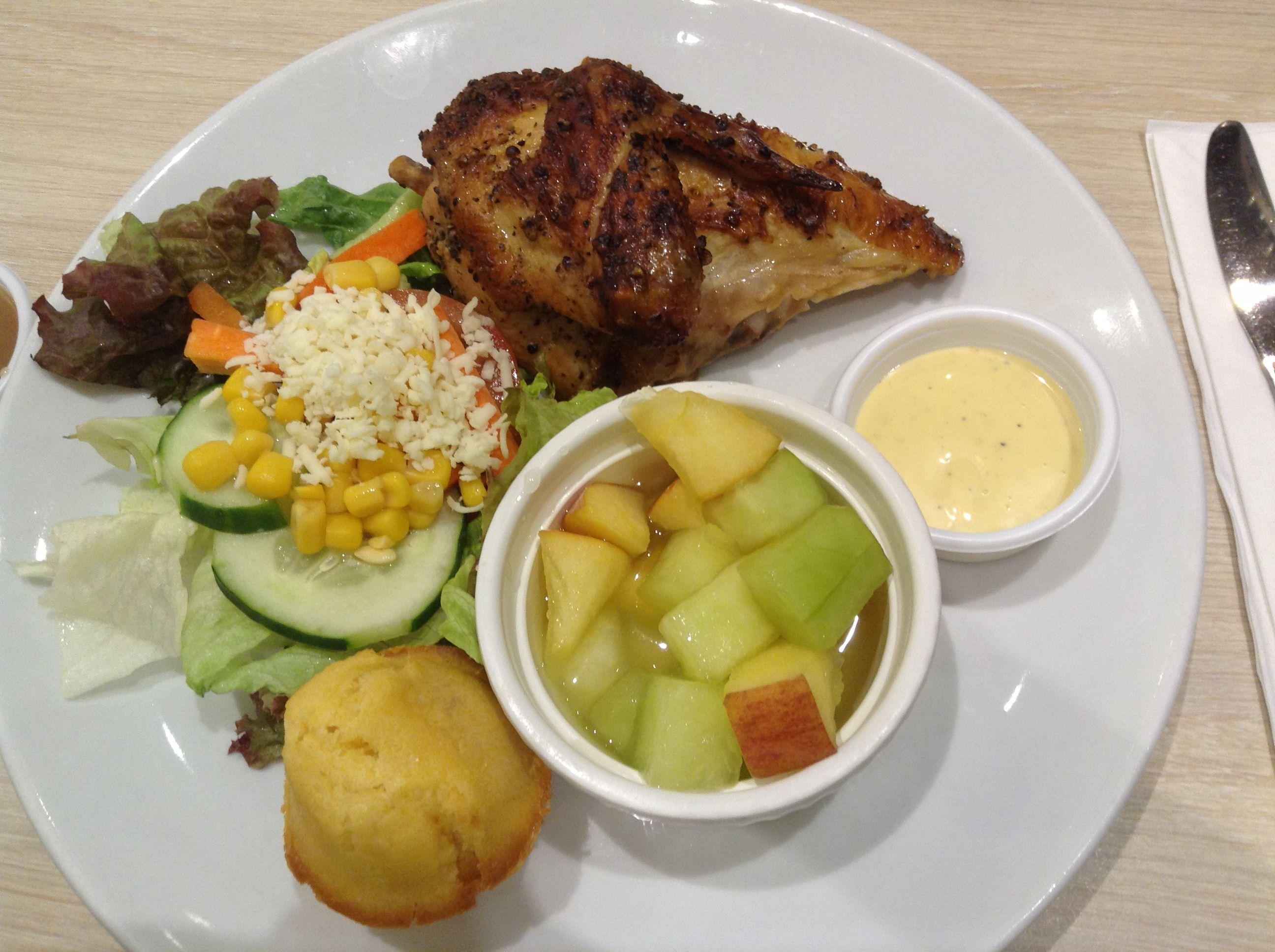 Philippines: Kenny Rogers Chicken | Travel food, Food, Pork